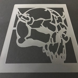 Buy 2 Get 1 Free! Mix /& Match Skull #46 Stencil