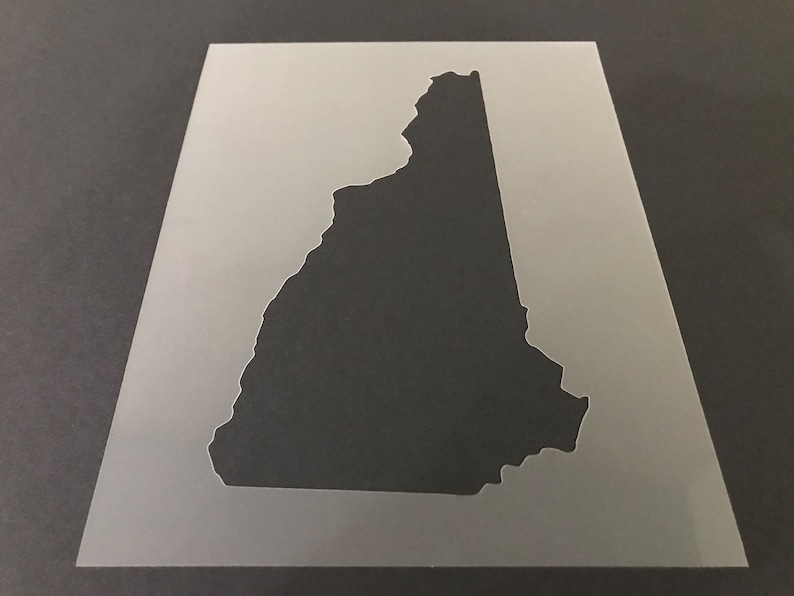 Buy 2 Get 1 Free! Mix /& Match New Hampshire #1 Stencil
