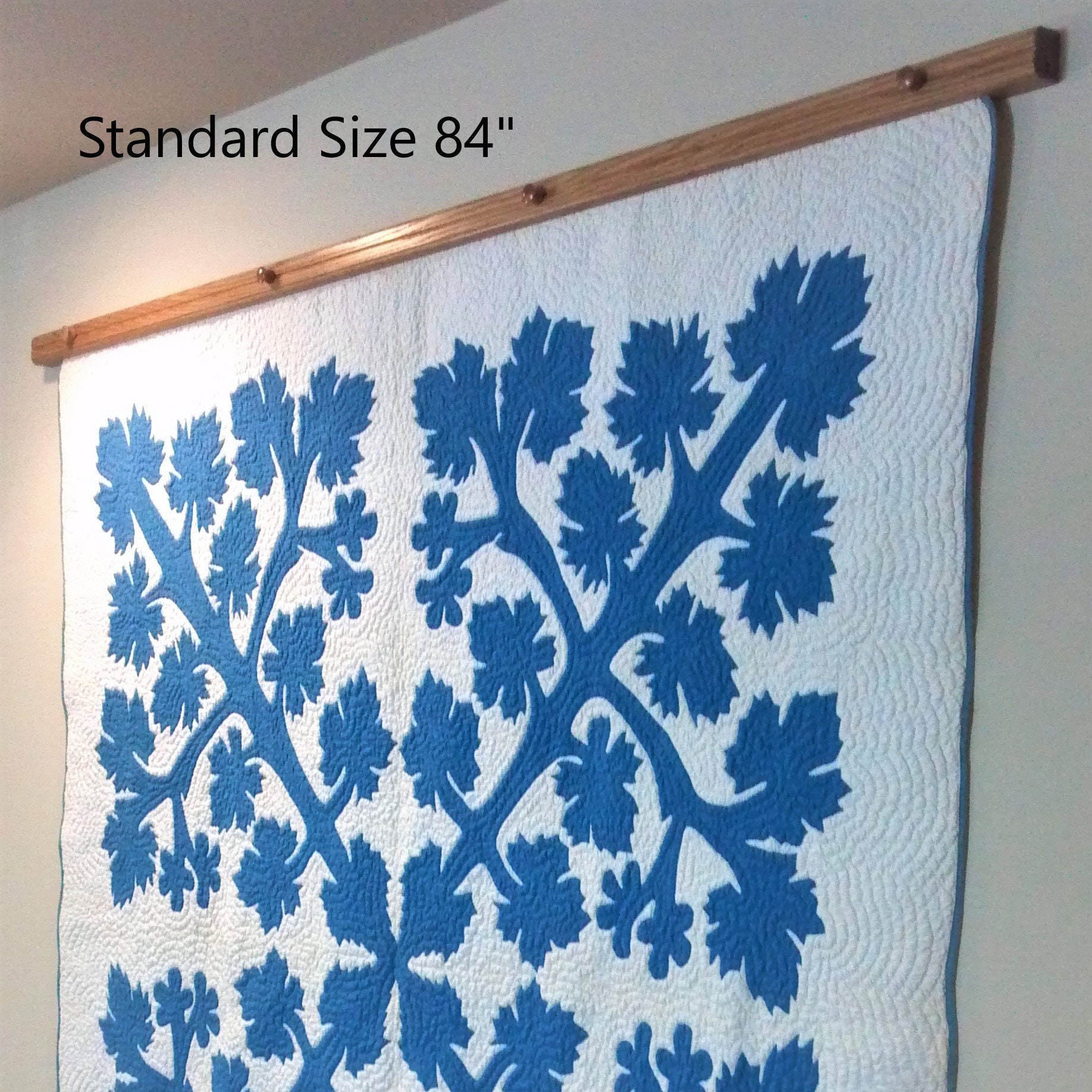 Rug Or Quilt Hanger 84 Several Finishes Available