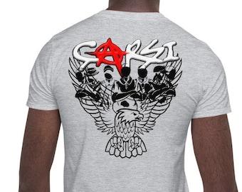 Carsi herseye karsi - Kara Kartal 1903 - BJK - Carsi gang Istanbul - Turkish Black Eagle - Short-Sleeve Unisex T-Shirt