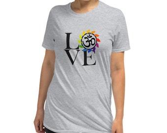 Love - Namaste - Yoga life - Short-Sleeve Unisex T-Shirt