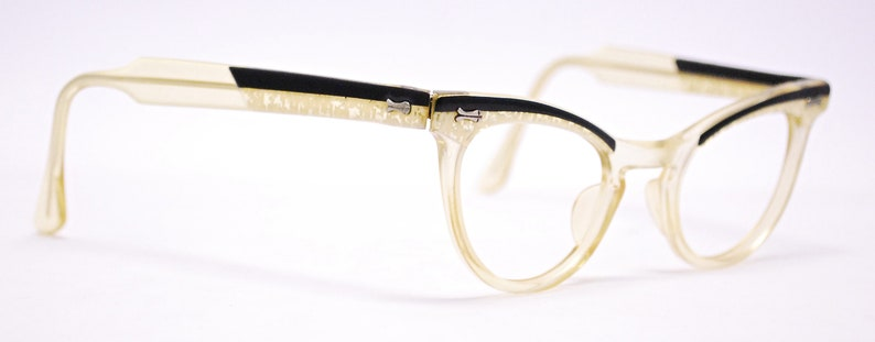 1950's/60's Apple Juice Cat Eye Optical Eyeglasses / Midcentury / Rockabilly / Rare Collectable Retro #2142