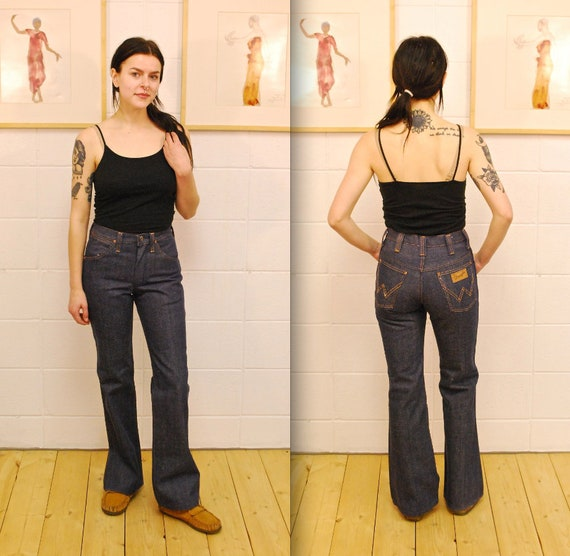 1960/'s70/'s Deadstock Women/'s PITCHRIDERS SLIM Jeans  Union Made  Rare Collectable Retro