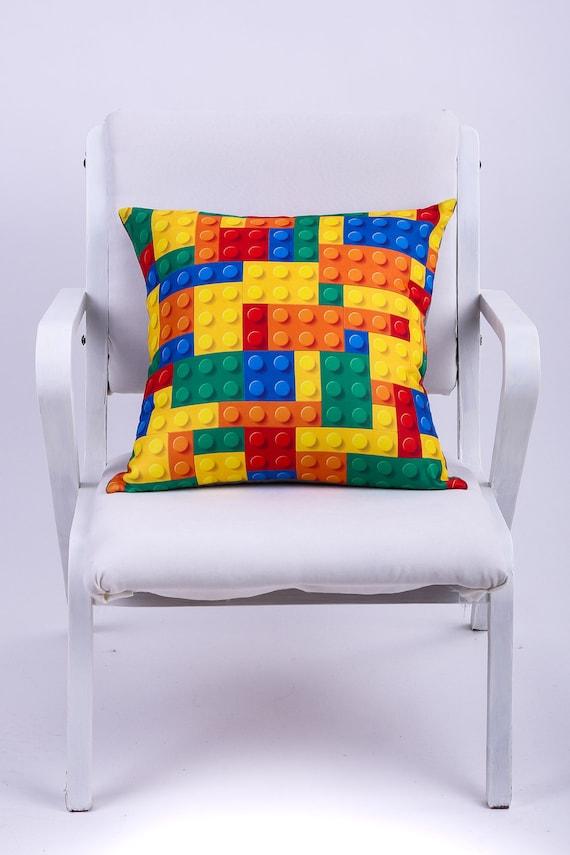 Lego Throw Pillow Cover Decorative Pillow Funny Pillow