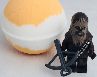 Star Wars Chewbacca chewy rebel Peek-A-Boo bath bomb with toy