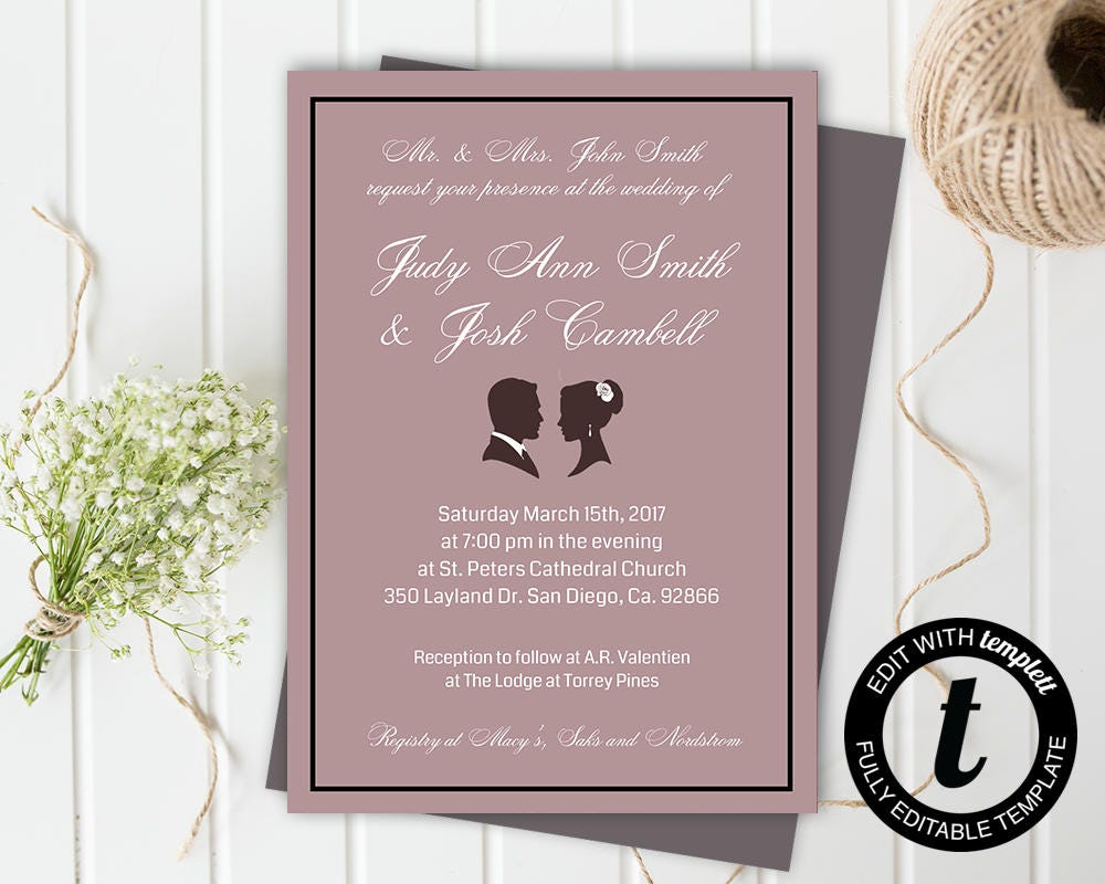 50: Sle Wedding Invitation In Arabic At Websimilar.org