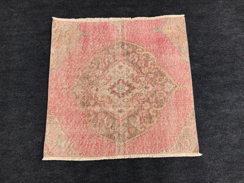 door mat rug Oushak small rug,floor mat rug,vintageTurkish rug Turkish Distressed Small rug,Turkish  Small rug moraccon rug