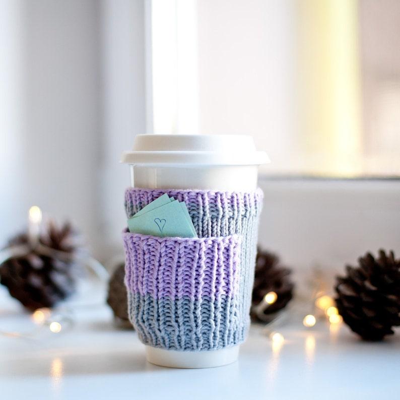 En Réutilisable Tasse Confortable Cottiennes 20 Manchette Cache Café À Starbucks La Manche Tricot Sous Main gifts Pull Mug Cupholder Porte 5uFKJ3cTl1