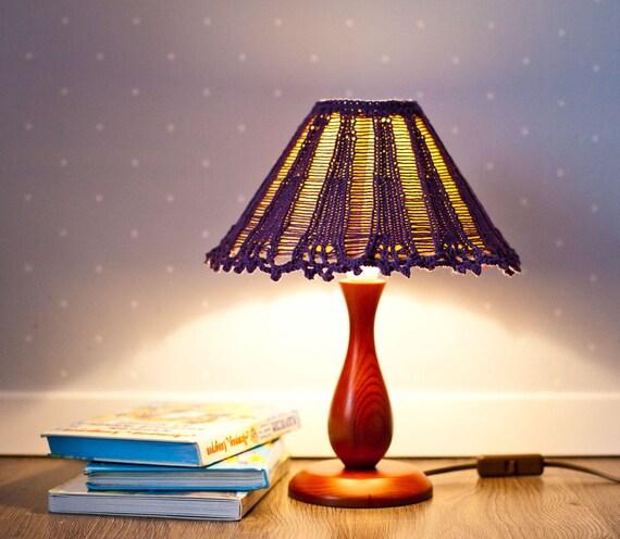 Lamp Schaduw Handgemaakte Douaneontwerp Lampenkap Klein Dekt Etsy