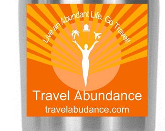 Custom Designed Travel Abundance Logo