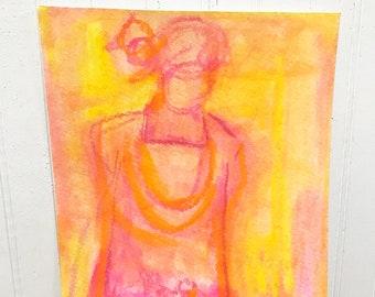 9x12 Art on Canvas Paper
