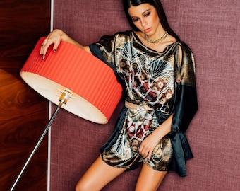 Versatile robe de soirée en satin