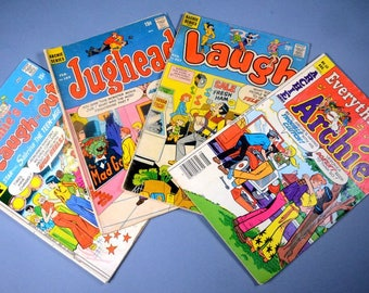 4 Archie Series Comic Books from the 70's