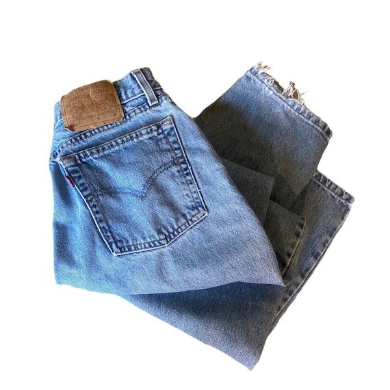 Vintage 560 loose fit straight leg Levis jeans