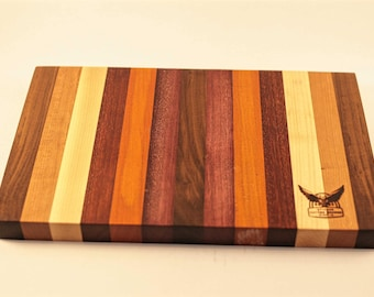 Handmade hardwood cutting board
