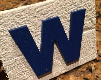 Chicago Cubs W Magnet