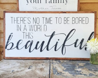 Beautiful Sign- Life is Beautiful- Life is Beautiful Sign- Rustic Wood Sign- Farmhouse Sign- Large Wood Sign- Large Wall Art