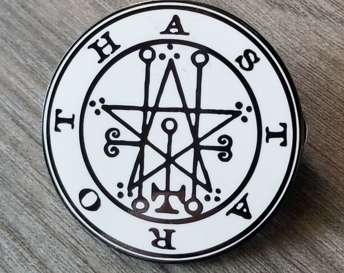 The Seal of Astaroth Enamel Pin