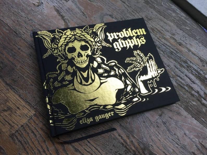 Eliza Gauger's Problem Glyphs Limited Leather-bound image 0