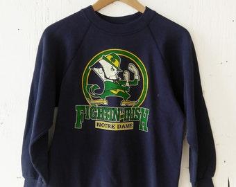 Vintage Notre Dame Fighting Irish Sweatshirt