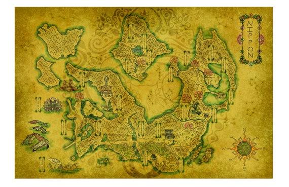 okami map etsy