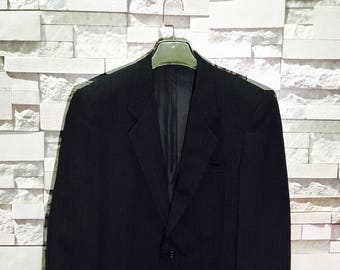 54faeca4e Vintage Comme Des Garcons Deux Wool Blazers Coat Size Small   Yohji Yamamoto    Wool Pants  Made in Japan   Comme Des Gargons Work Jacket