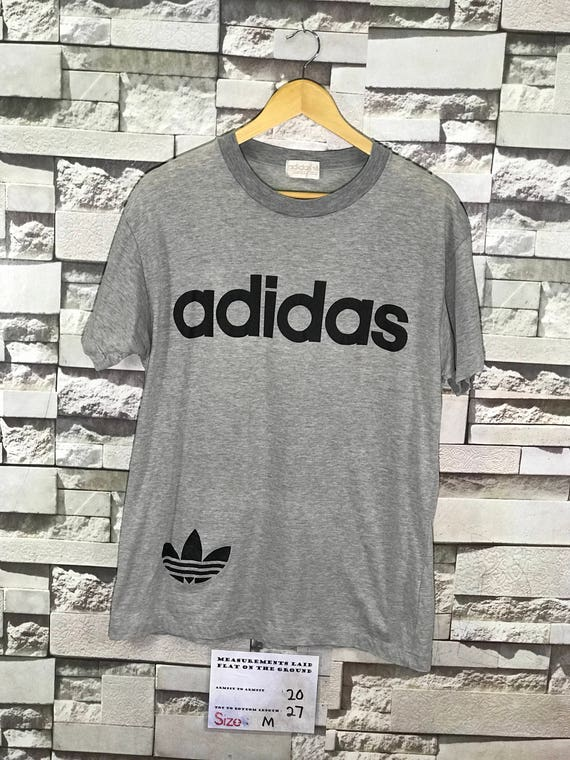 Vintage 90s Adidas Trefoil Big logo Spell Out Women's