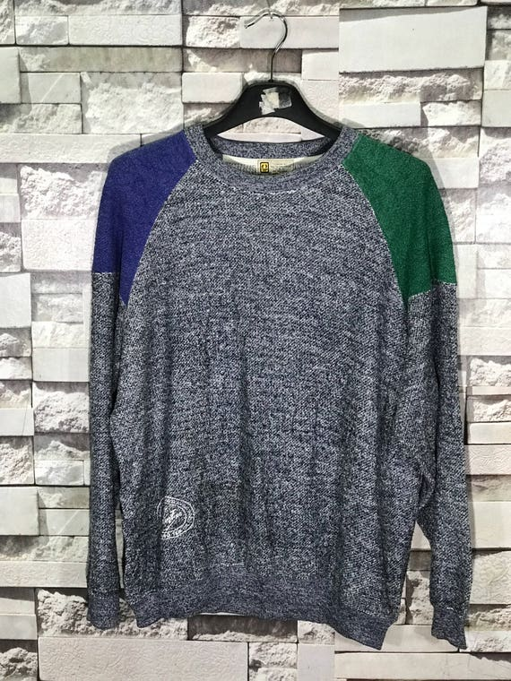 Rare Vintage Hang Ten Multicolour Sweatshirt Size