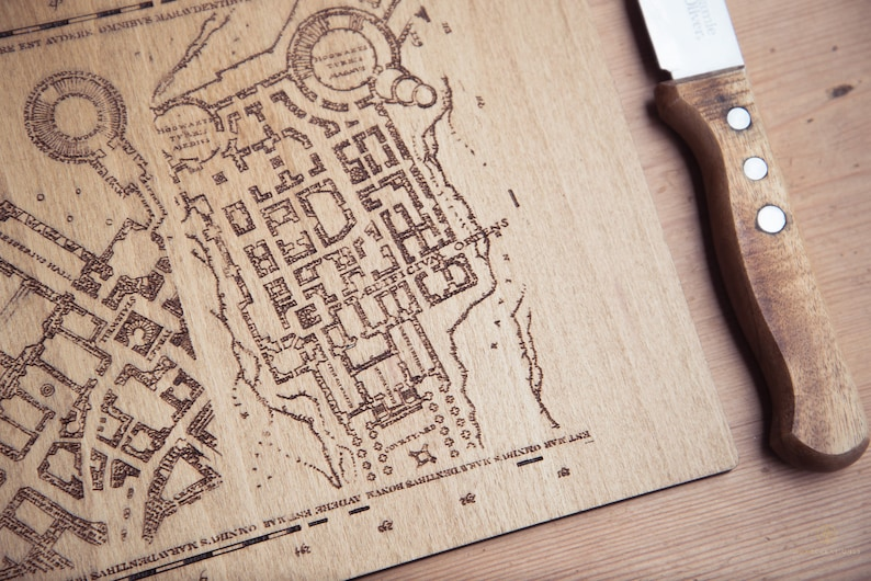 Marauders Map Inspired Place Mats