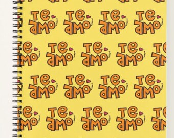 Te Amo Notebook