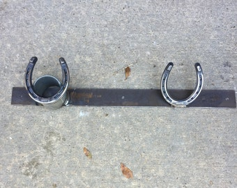 Horse tack and halter holders