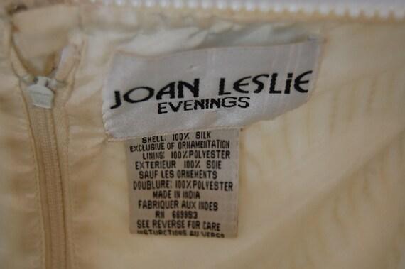 Formal bridal blouse   Ivory white sequin blouse … - image 8