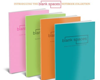 The Blank Spaces Notebook Collection
