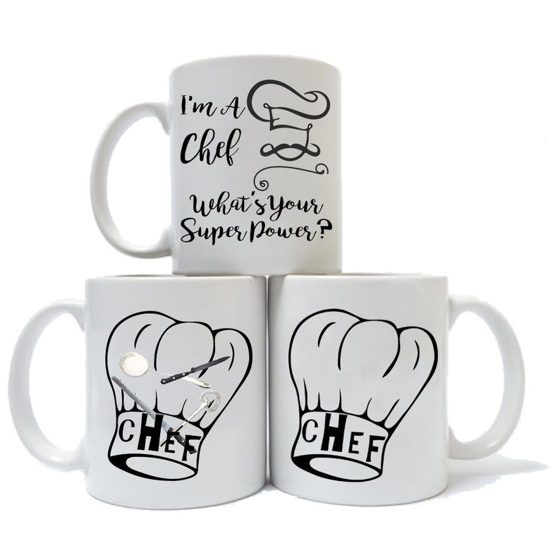 455155654bf Funny I'm A CHEF What's Your Superpower Coffee Mug   Etsy