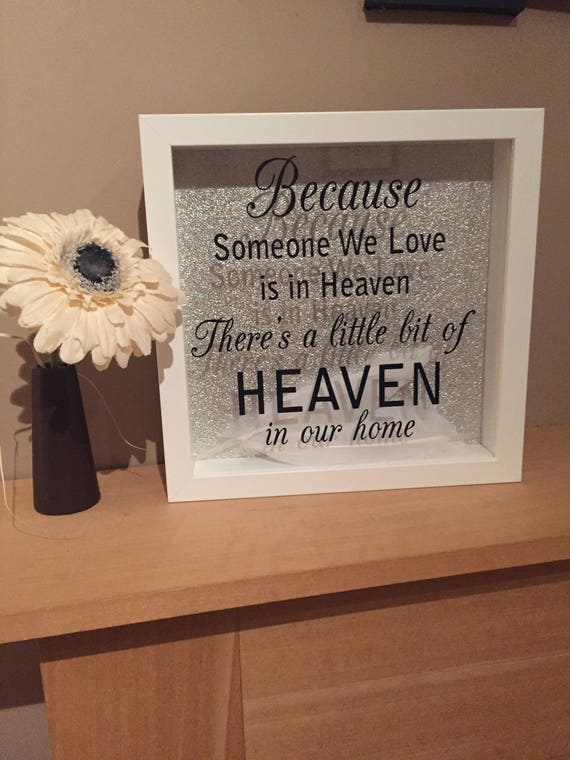 Memorial Frame, memorial gift, remembrance frame, remembrance gift ...