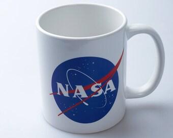 NASA Nasa mug Ceramic mug Coffee cup Cute cup Tea mug Cool mug Art mug Printed mug Coffee mug Printed cup Fan cup Geek mug Nasa cup GO4022