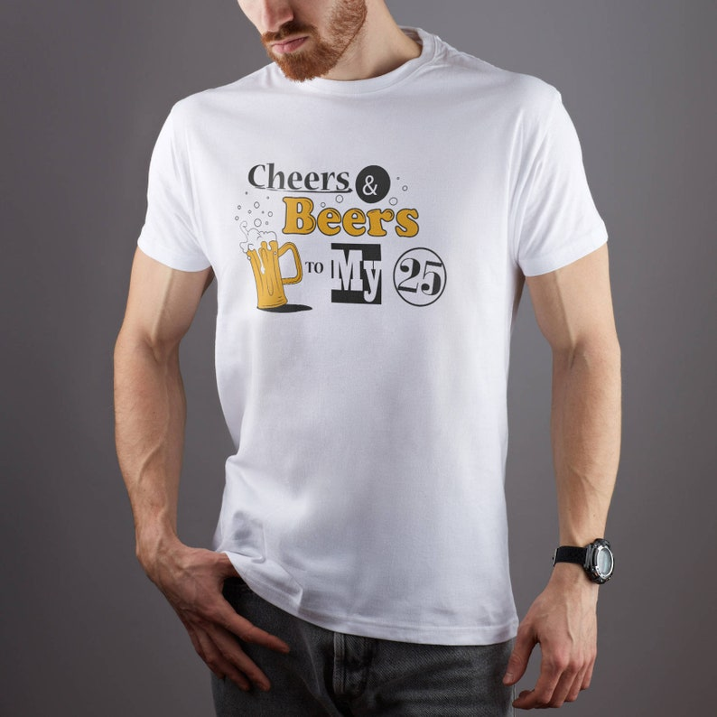 ad6546304de98 Cheers Beers Shirt Oktoberfest Tee Tumblr T-Shirt Drink Party Tee Birthday  Shirt Custom Year Graphic Tee Printed Beer Lover T Shirt GO1181