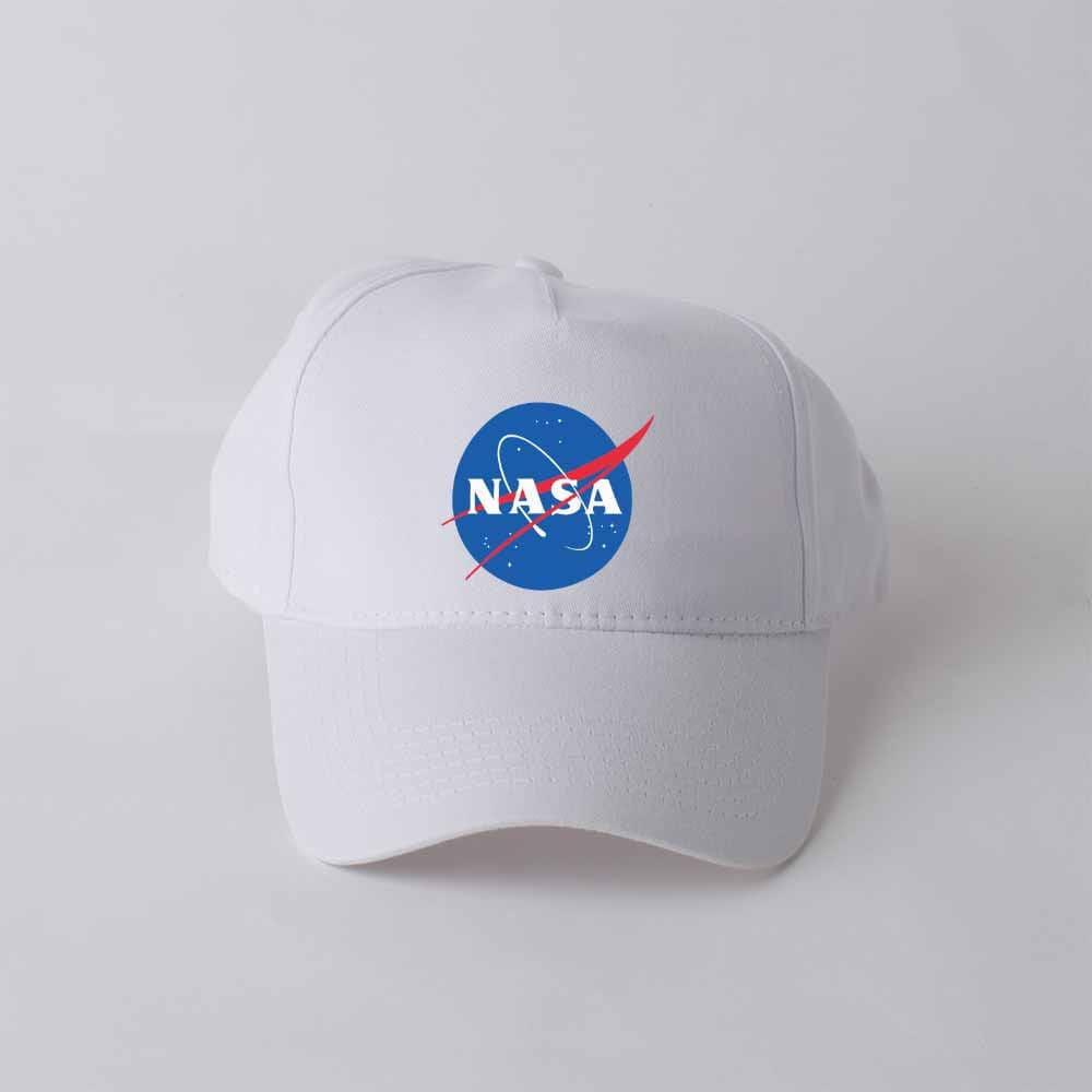 1132cc214 Nasa Baseball Cap Head Wear Embroidered Hat Personalized Sport Trucker Hat  Space Cap Nasa Logo Galaxy Cap Cotton USA Space Nasa Print GO1325