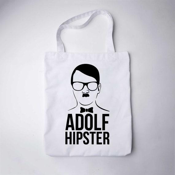 Adolf Hipster Einkaufstasche Stoff Tasche Markt Tasche Canvas   Etsy