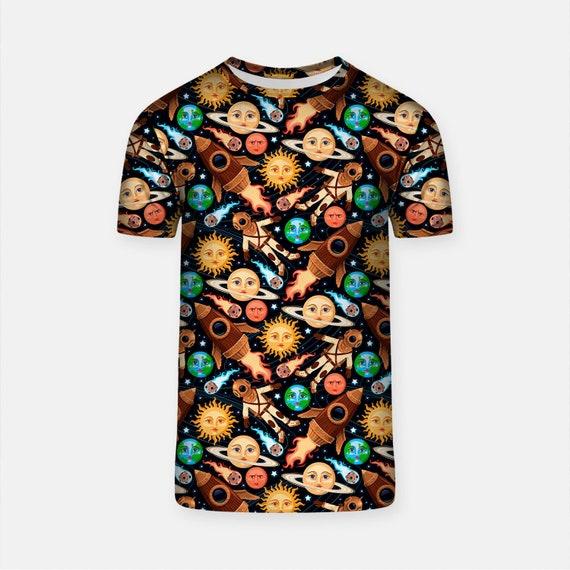 Nuit ciel Tumblr chemise femme chemise chemise homme Street astronomie style vêtements esthétique astronomie Street chemise nuit ciel chemise galaxy chemise Cool Tee GO1006 016ec8