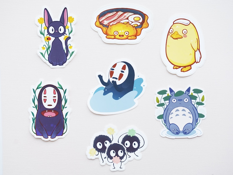 Spirited Away Duck Sticker Bath House Studio Ghibli Etsy