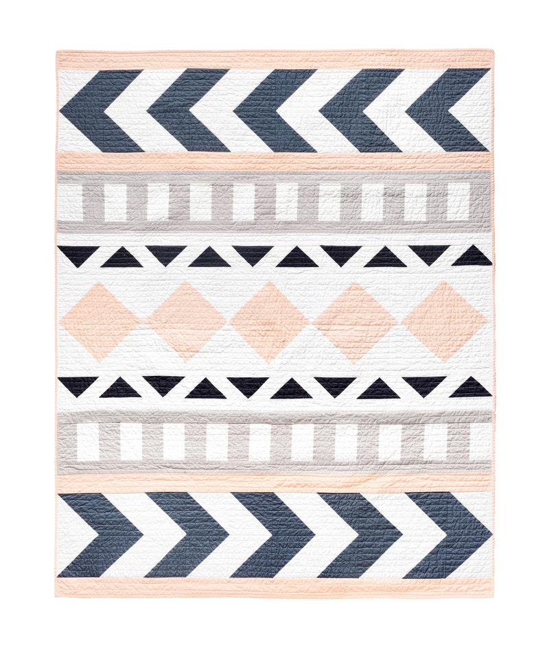 Tribal Song Quilt Pattern image 0