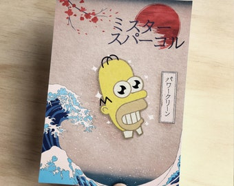 Traditional Style Mr Sparkle Art Print - A6