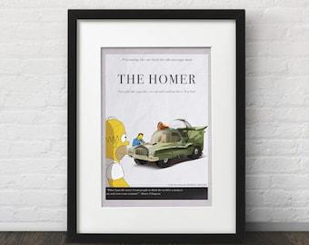 The Homer - The Simpsons - Art Print