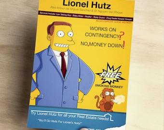 The Simpsons Lionel Hutz Art Print - A6