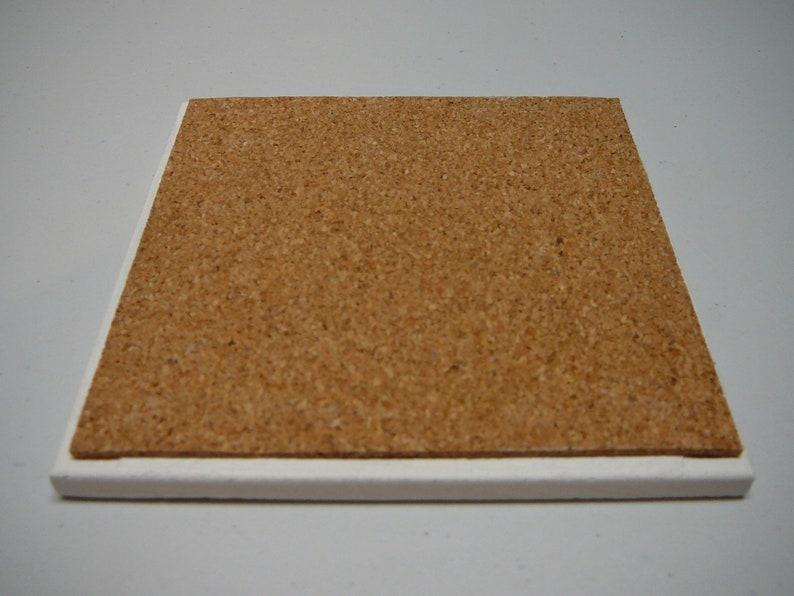 1 Single ceramic tile coaster