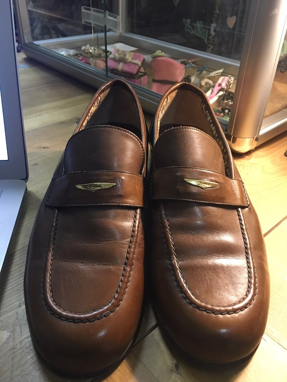 71badeed7f4b2 70's GUCCI mens shoes size 41 1/2 euro size(8 US size)
