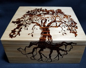Handmade Tree Of Life Box