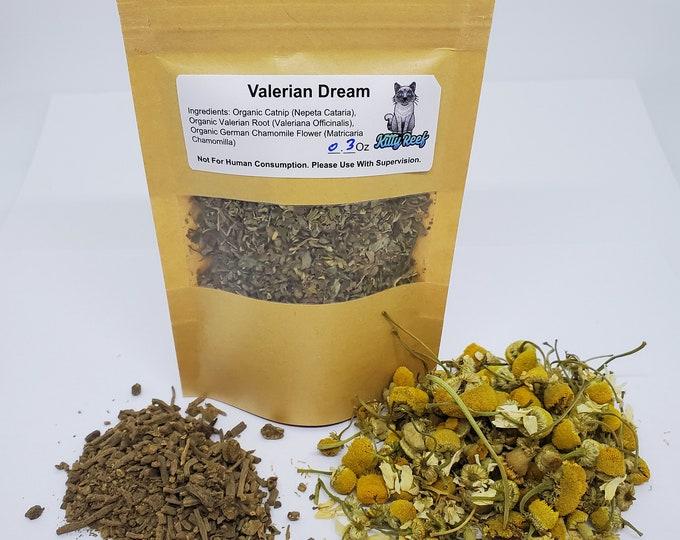 Valerian Dream - Kitty Reef Organic Catnip