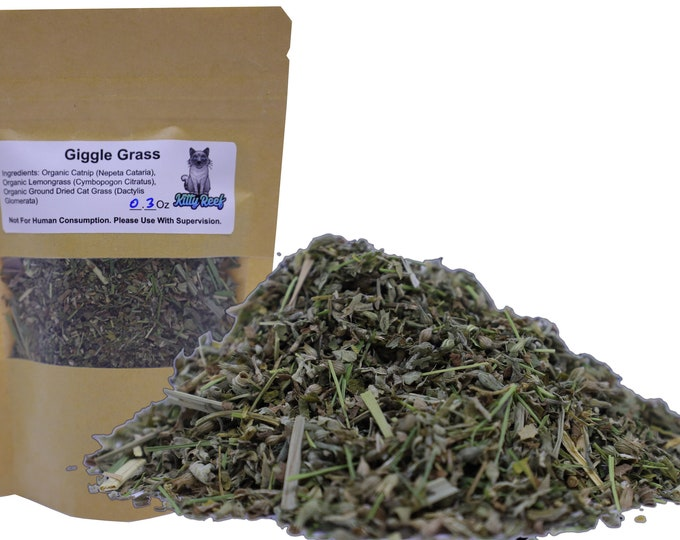 Giggle Grass - Kitty Reef Organic Catnip